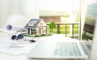 Plantegninger for å bygge nytt hus