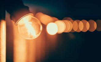 Led-pærer som lyser